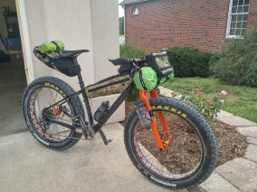 Bikepacking shakedown